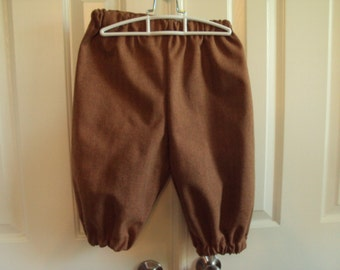 Rust herringbone knickers, Childrens sizes, Newsies, Pirates, Colonial lads Child size 10