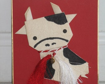 Year of the Cow Wall Art