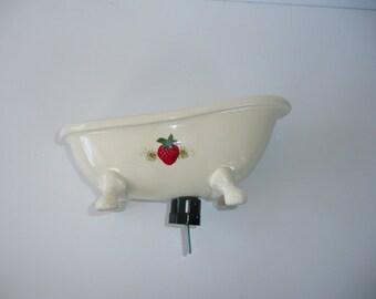 Bird Bathtub or feeder on pole
