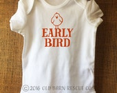 Early Bird Onesie