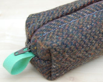Marc Jacobs Wool Tweed Sm CA Roll (pencil or makeup case)
