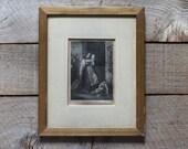 Antique Engraving, W.C Wrankmore, Antique Art, Antique Engraving, Framed Engraving, Wall Art, Gold Frame, Framed Print, Home & Living