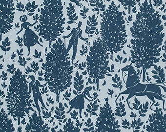 Rowan Amy Bulter CAMEO PWAB 092 FOLLY Blue Scene By The Yard