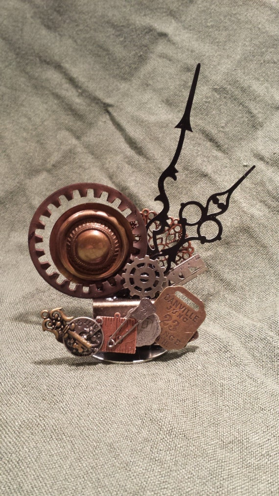 Steampunk industrial business card holders for Steampunk business card holder