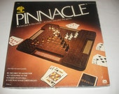 Vintage Pinnacle Card Strategy Board Game by Mind Flex Games 1979 100% Complete