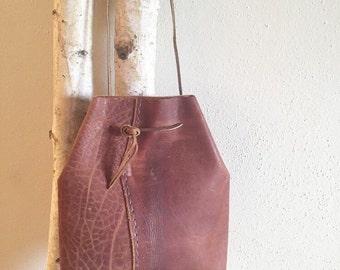 Journey Distressed Leather Crossbody Bag