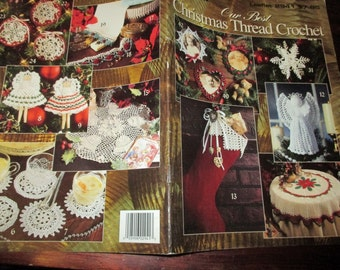 Holiday Crocheting Patterns Our Best Christmas Thread Crochet Leisure Arts 2941 Crochet Pattern Leaflet
