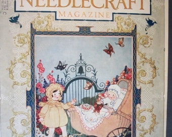 EVER 107  Needlecraft Magazine Front Cover Only -  May 1926
