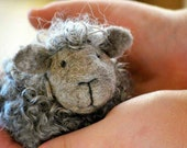 Black Sheep Needle Felting Kit - DIY Craft Kit - Sheep craft