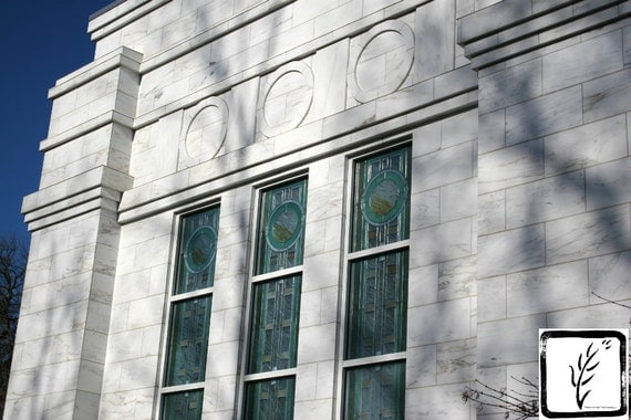 """Louisville Temple Windows,"" Louisville LDS Temple, Crestwood, Kentucky, 2013."