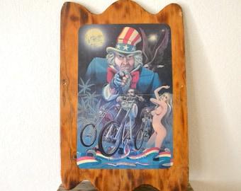 1970's David Mann Biker Wall Art