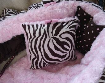 Shopping Cart Cover Zebra Skirt