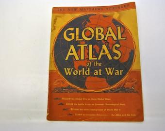 Global Atlas - World at War - 1943