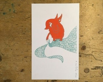 Flying Fox limited edition print