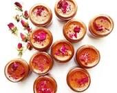 Rose Honey Mask . plant based organic skin care
