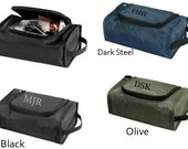 Monogram Toiletry Case Shave Kit Travel Bag For Men Wedding Party Gifts Set of 5