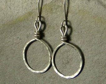 Sterling Silver Hoop Earrings Extra Small Hoop Earrings  Eco Friendly Jewelry  Tiny Hoops Gifts for Her