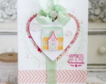 Happiness is Homemade...Handmade Card