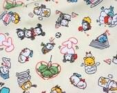 Disney Licensed fabric Disney tsum tsum  Half meter  Printed in Japan Printed in Japan ©Disney ©Disney/Pixar
