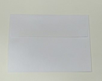 A7 White Envelopes - Set of 25