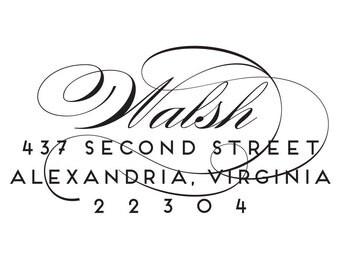 Return Address Stamp Style #23