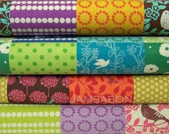 Japanese Cotton linen fabric / ECHINO by Etsuko Furuya - Story patchwork , 1 yard of your choice