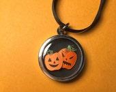 Custom order - Pumpkin Necklace