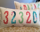 Zip Code or City Pride or Name Pillow