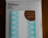Cuttlebug Embossing Folder-Scalloped Edge
