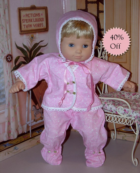 Bitty Baby playtime outfit - Pretty in Pink **Sale**