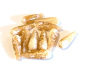 Destash Beads, Dark Yellow white Resin Teardrops, 30x10mm, 10 Beads  Jewelry supplies, DIY