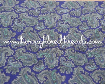Purple Paisley - New Old Stock Vintage Fabric Mod