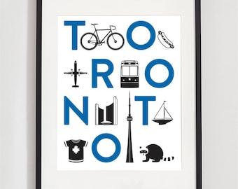 Toronto City Print