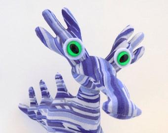 Alien Toy, Cute Alien, Alien Plush, Toy Alien, Adopt an Alien, Adoptanalien, Stuffed Animal Alien named Percy