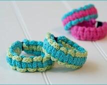 Ryedale Bracelet - Knitting Pattern - iCord / Paracord bracelet - Medical alert bracelet - Instant download