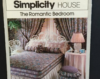 Vintage 70s Simplicity House #102 The Romantic Bedroom Tutorial