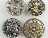 antique buttons steels