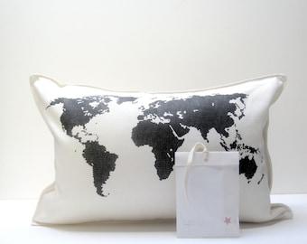 map pillows (misprinted)