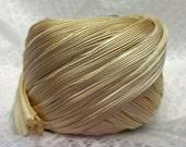 1/2 yd Shibori Girls Hand Dyed Silk Ribbon Desert Sand Shibori Silk Ribbon
