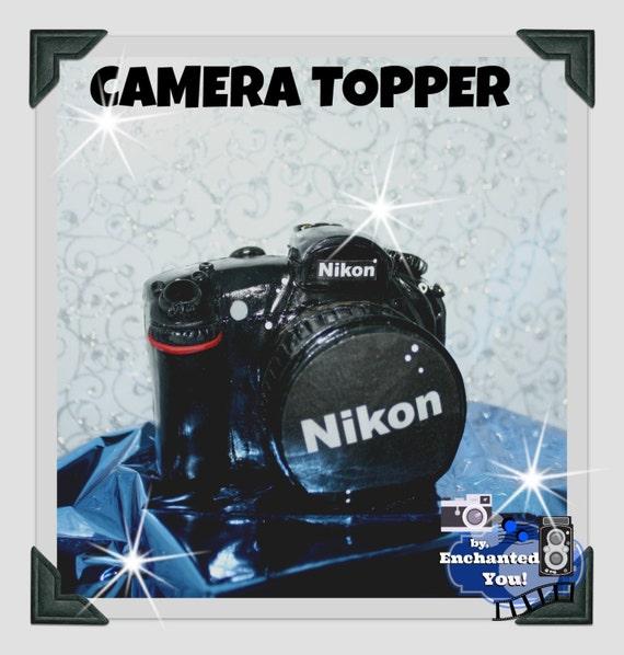 Nikon Camera Cake Topper