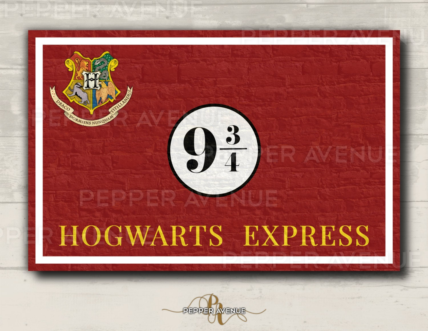 It's just a graphic of Effortless Hogwarts Sign Printable