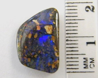 Boulder Opal, Natural Australian Boulder Opal - Item 206162 - FREE Shipping