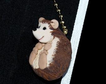 Hedgehog fan pull -- Ceiling Fan Pull chain