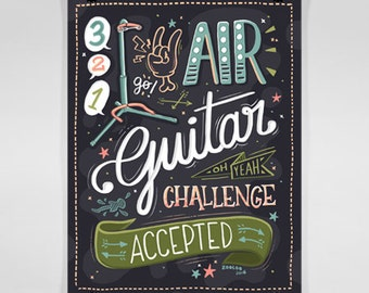 Air guitar challenge accepted!