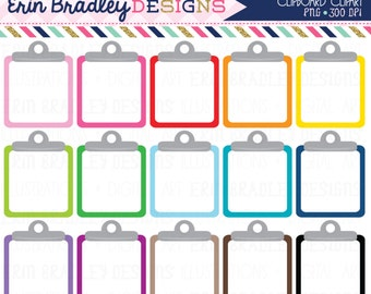 Clipboard Clipart Graphics Personal & Commercial Use Note Paper To Do List Clip Art