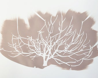 Fog Tree in Dawn