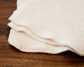 Diaper Wipes - Single Layer Organic Cotton Sherpa - 1 Dozen