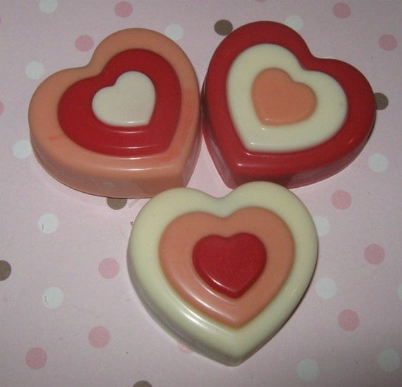 One dozen triple heart chocolate covered oreo sandwich cookie party favors