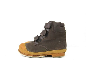 Wind River Fly Fishing boots Nylon & Rubber Boots men's size 7 Felt Bottoms