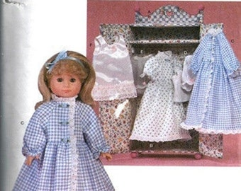 RETIRED SEWING PATTERN! Make Doll Clothes / American Girl - 18 Inch Dolls / Samantha - Victorian